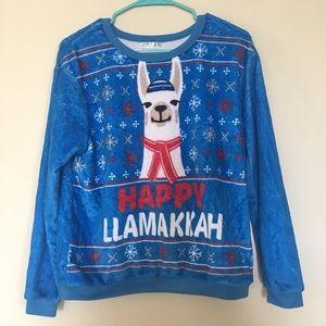 Happy Llamakkah soft pullover